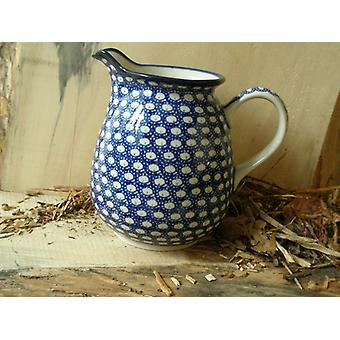 Pitcher, 1000 ml, height 16 cm, 4 - traditional polish pottery - BSN 4801