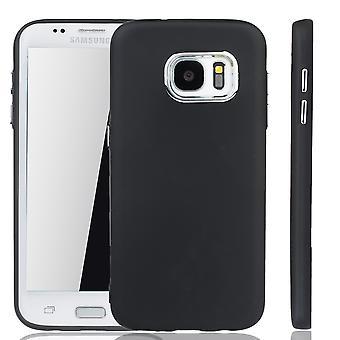 Samsung Galaxy S7 Edge Hülle - Handyhülle für Samsung Galaxy S7 Edge - Handy Case in Schwarz