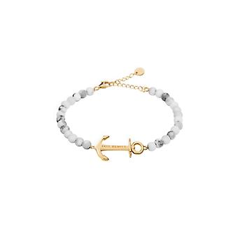 Paul Hewitt Armband anker Spirit Gold Marble (PH-ABB-G-M)
