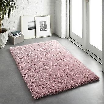 Alfombras Chicago rosa rectángulo alfombras llano casi llanos