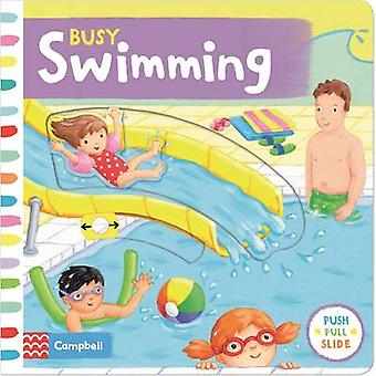 Busy Swimming - Push - Pull and Slide the Scenes to Bring the Swimming