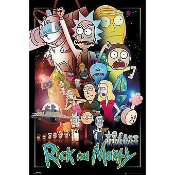 Rick et Morty Wars Poster