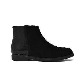 Liberitae booties booty smooth suede black 21803321-03