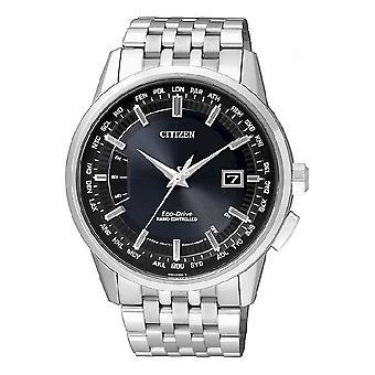 Ciudadano reloj elegante evolución 5 mundo eco drive radio reloj CB0150-62 L