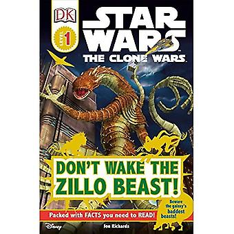 Star Wars: The Clone Wars: Don't Wake das Zillo-Biest! (DK Lesetext - Ebene Pre1