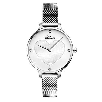 s. Oliver Analog quartz ladies with stainless steel strap SO-3472-SQ.