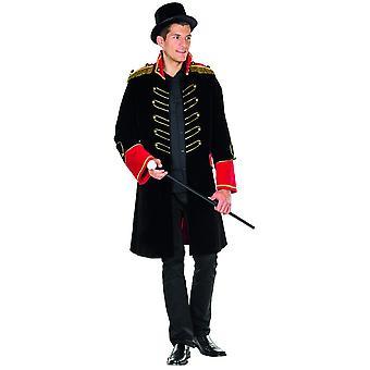 Queues de bague cirque Ringmaster veste costume masculin carnaval