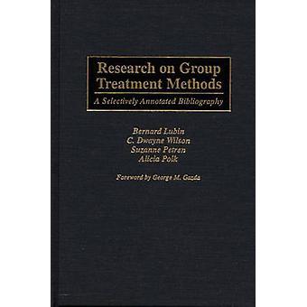Pesquisa sobre métodos de tratamento do grupo uma bibliografia anotada seletivamente por Lubin & Bernard