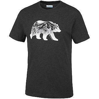 Columbia Baker Brook EM0736010 universel toute l'année hommes t-shirt