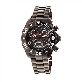 W1.7 - Carbon 14 - Quartz Chronograph - All Steel Bracelet Steel PVD