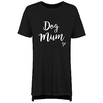 Dog Mum Ladies Nightie Slogan