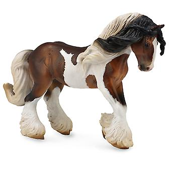 Figurine-Etalon Tinker Pie-chevaux Taille XL CollectA 88794