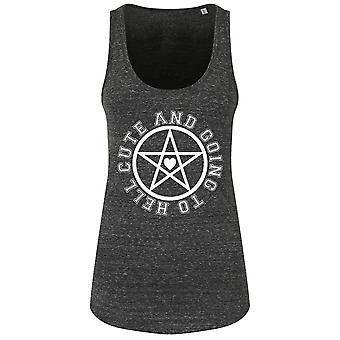 Grindstore Ladies/Womens Cute And Going To Hell Floaty Tank