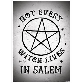 Grindstore Not Every Witch Lives In Salem Mini Poster