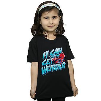 Marvel Girls Spider-Man Into The Spider-Verse Spider-Ham Weird T-Shirt