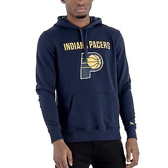 New Era Fleece Hoody - NBA Indiana Pacers navy