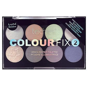 Technic Colour Fix 2 Highlighter Palette Limited Edition