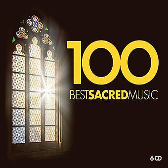Various Artist - 100 Best Sacred Music [CD] USA import