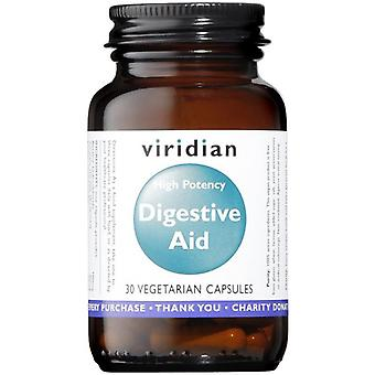 Viridian High Potency Digestive Aid (Vegan) Veg Caps 30 (470)