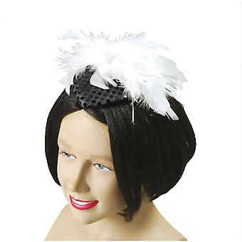 Bristol Novelty Womens/Ladies Gangster Moll Hat