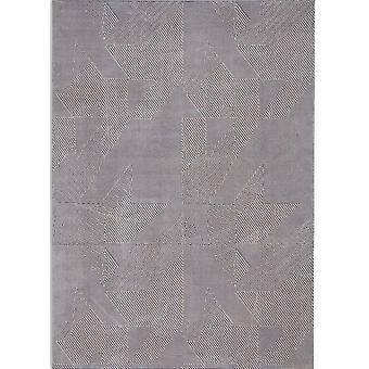 CK850 Orlando CK852 grå blå rektangel tæpper plain/næsten plain tæpper