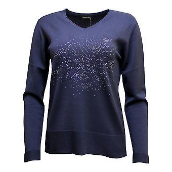 LEBEK Lebek Sweater 35790019 Lilac Or Indigo