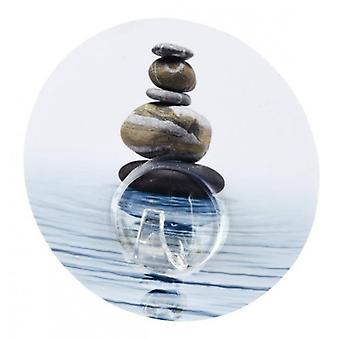 Wenko 静的 Loc 壁フック宇野砂と石 (装飾、ハンガー)