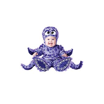 Baby Age 6 Months - 24 Month Purple Octopus Fancy Dress Halloween Costume