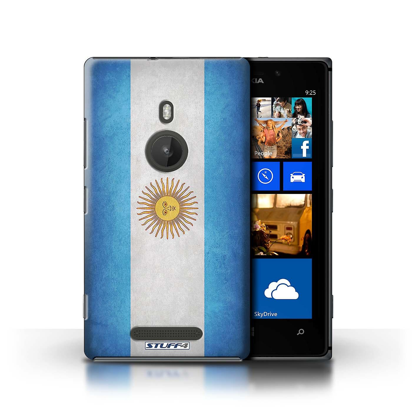 STUFF4 Case/Cover for Nokia Lumia 925/Argentina/Argentinean/Flags