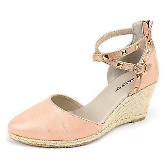 Rialto Womens Campari gesloten teen casual platform sandalen
