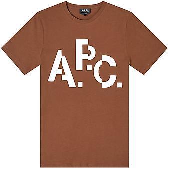 A.p.c A.P.C Decale Logo T-Shirt