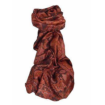 Herren Jamawar Premium Seide Schal Muster 7839 von Pashmina & Seide