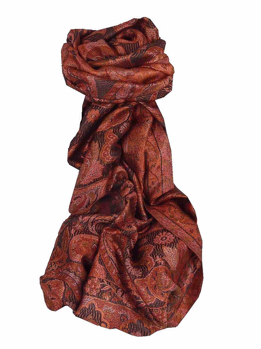 Mens Jamawar Premium Silk Scarf Pattern 7839 by Pashmina & Silk