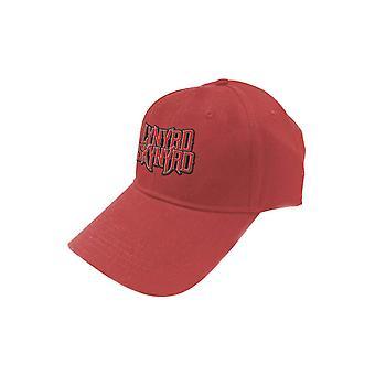 Lynyrd Skynyrd Baseball Cap Band Logo new Official Red Strapback
