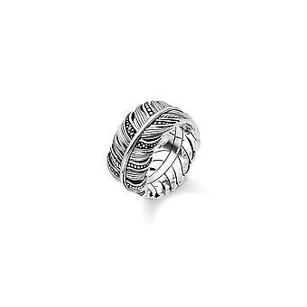 תומאס Sabo סטרלינג כסף תומאס סאבו מנוצה הטבעת TR2159-643-11