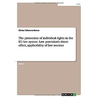 The Protection of Individual Rights in the Eu Law System. Law Provisi