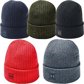 Under Armour UA  Mens Truckstop 2.0 Warm Winter Knit Active Hat Beanie - OS