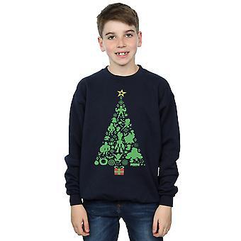 مارفل بويز المنتقمون عيد الميلاد شجرة سترة