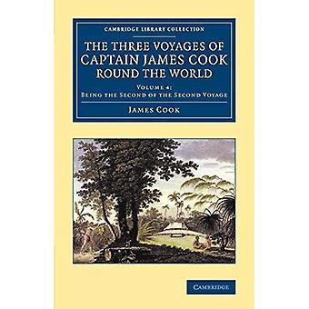Trzy podróże kapitan James Cook cały świat: Tom 4 (Cambridge biblioteki kolekcji - morskich badań)