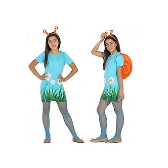 Kinder Kostüme Schnecke Mädchen Kostüm