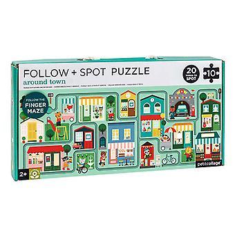 Petit Collage seuraa & Spot Puzzle