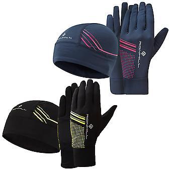 Ronhill Unisex mössa och handskar set