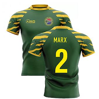2020-2021 South Africa Springboks Home Concept Rugby Shirt (Marx 2)
