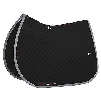 LeMieux Lemieux Wither Relief Full Size Jump Pad - Black/grey
