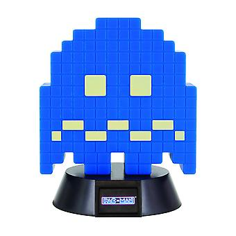 PAC-MAN lamp Ghost blue/black, made of plastic, comes in gift box, incl. USB cable.