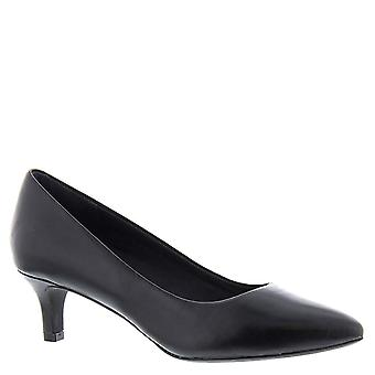 Rockport Womens Kalila Luxe Pump Leather Pointed Toe Classic Pumps