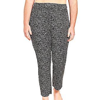 Rösch 1204630-16077 Dámské a pos;s Křivka Černé tečky Loungewear kalhoty