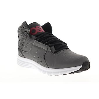 Osiris Equinox  Mens Gray Lace Up Athletic Skate Shoes