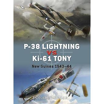 P38 Lightning Vs Ki61 Tony-tekijä Donald Nijboer