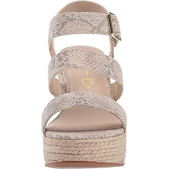 BC Footwear Women's Snack Bar Wedge Sandal,